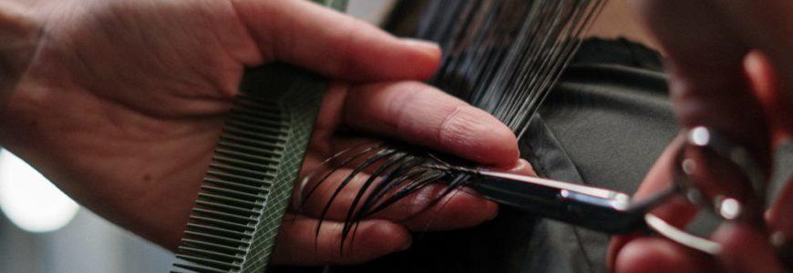 Snyggt hår hos frisör i Stockholm